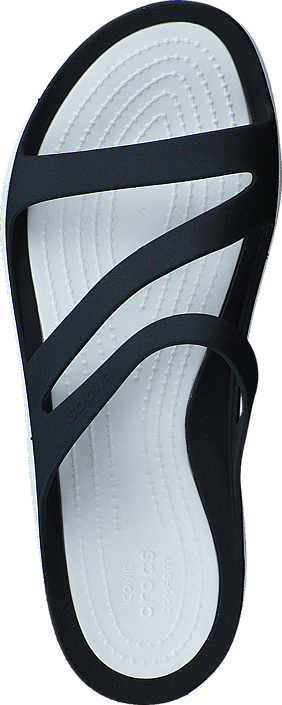 Crocs - Swiftwater Sandal W Black/White