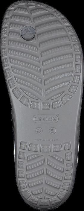 Crocs - Crocs Sloane Embellished Flip Platinum/Platinum