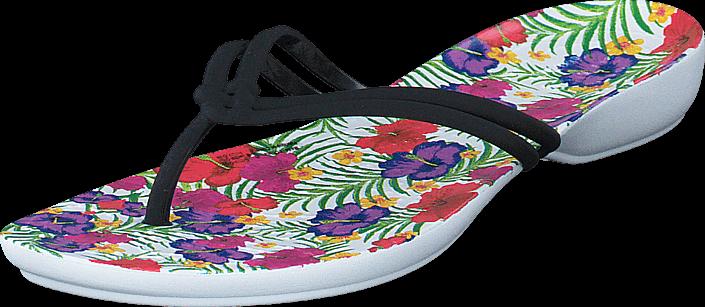 Crocs - Crocs Isabella Graphic Flip W Black/Floral