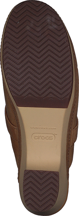 Crocs Crocs Sarah Leather Clog Camel