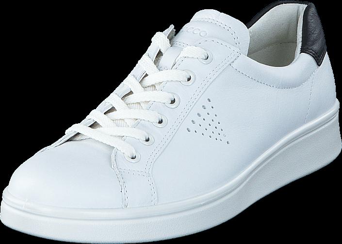 Footway SE - Ecco 218033 Soft 4 White/ Black, Skor, Sneakers & Sportskor, Låga sneakers, Vit, 847.00
