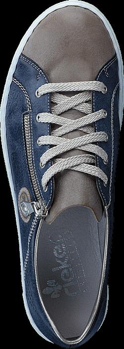 Rieker - L0946-43 Steel/Jeans