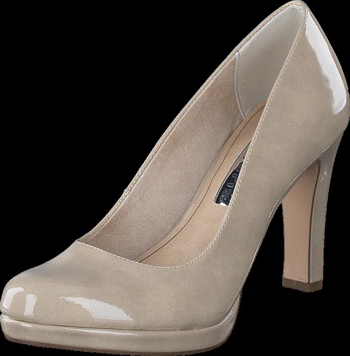 buy tamaris 1 1 22426 28 428 dune patent grey shoes online. Black Bedroom Furniture Sets. Home Design Ideas