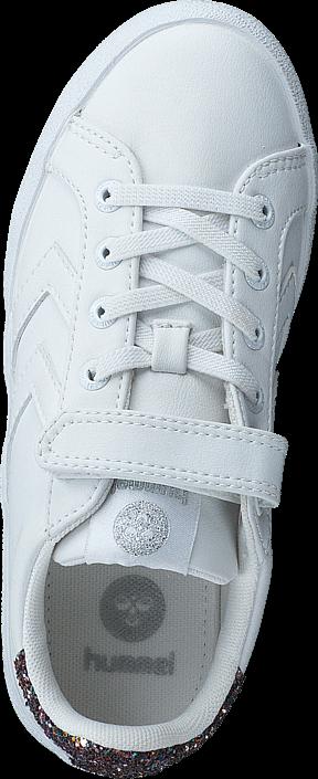 Hummel - Deuce Court Glitter JR White