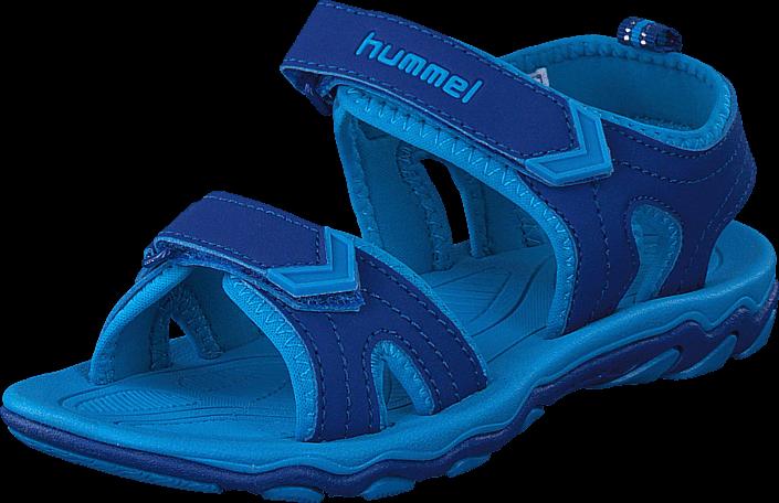 Footway SE - Hummel Sandal Sport JR Limoges Blue, Skor, Sandaler & Tofflor, Sportsandal, Blå, 337.00