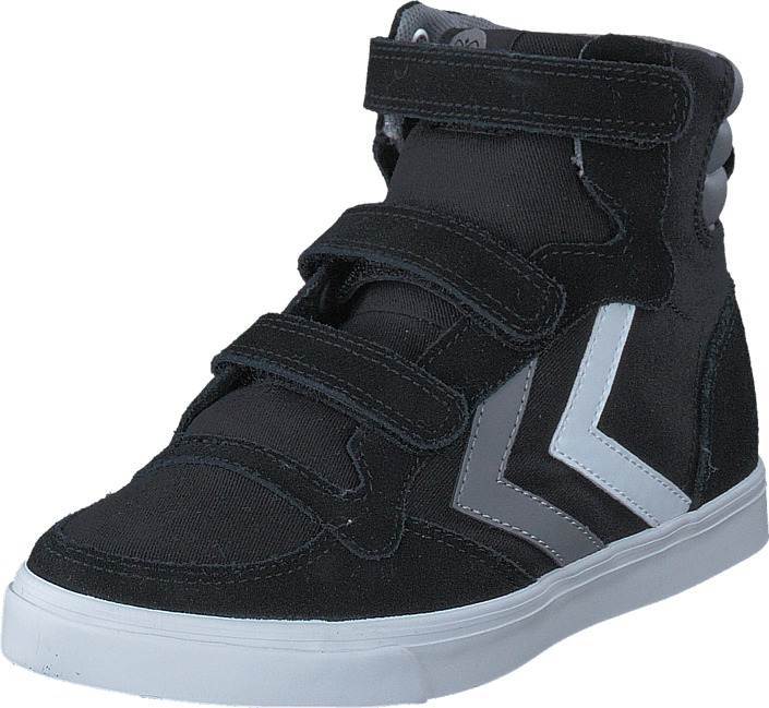 Hummel Stadil Canvas High JR Black