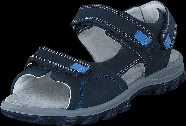 Footway SE - Primigi PRA 7647 Blue Scuro, Skor, Sandaler & Tofflor, Sportsandal, Blå, Unisex, 547.00