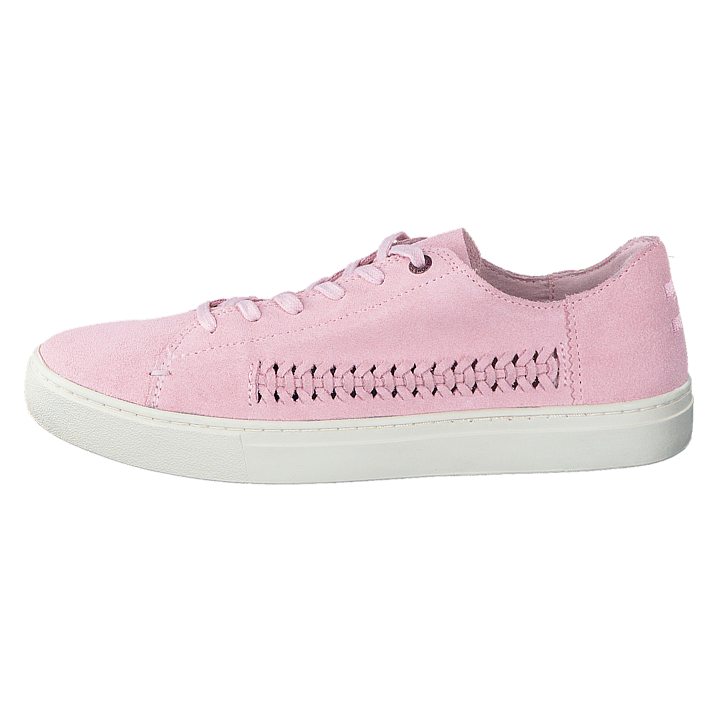 buy toms lenox pale pink deconstructed suede pink shoes