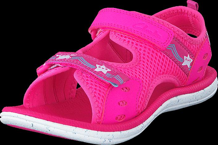 clarks-star-games-inf-pink-kengaet-sandaalit-ja-tohvelit-sporttisandaalit-vaaleanpunainen-unisex-26