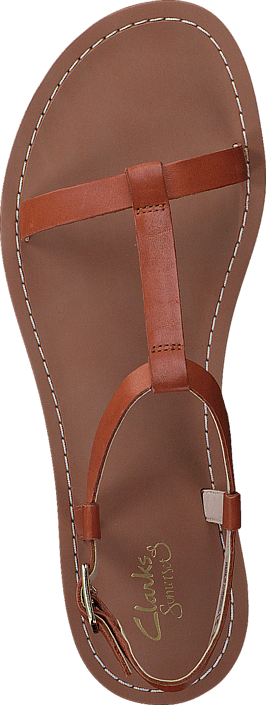 Clarks Voyage Hop Tan Leather