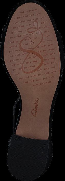 Clarks - Barley Belle Black Combi Lea