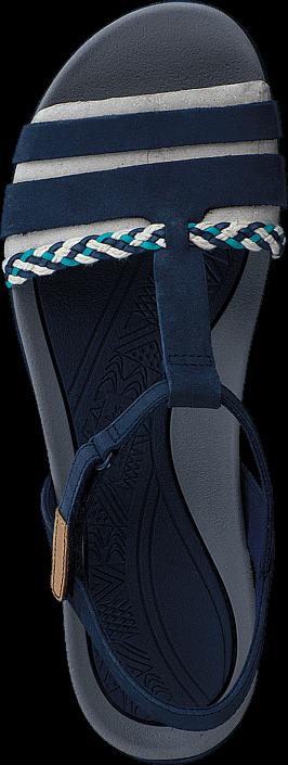 Clarks - 26123894 Tealite Grace Navy Nubuck