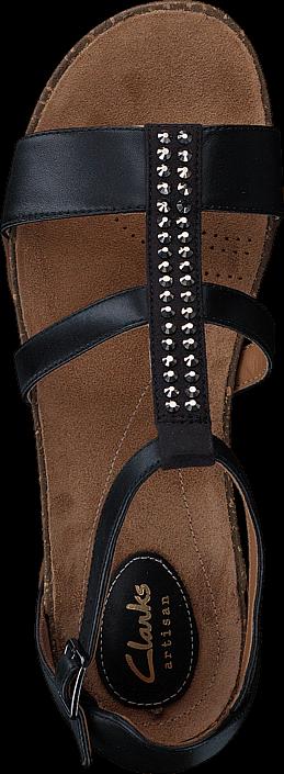 Clarks - Autumn Fresh Black Combi Lea