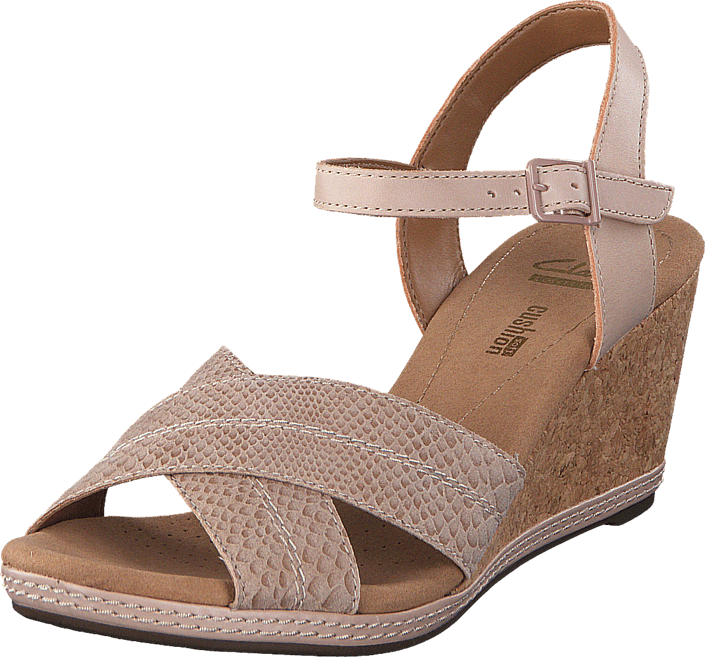 Clarks Helio Latitude Nude Leather