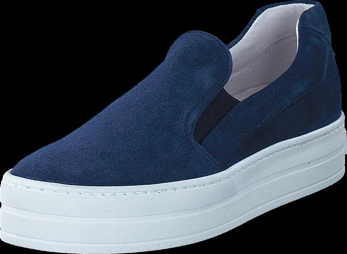 a-pair-bari-velour-navy-kengaet-matalapohjaiset-kengaet-slip-on-sininen-naiset-36