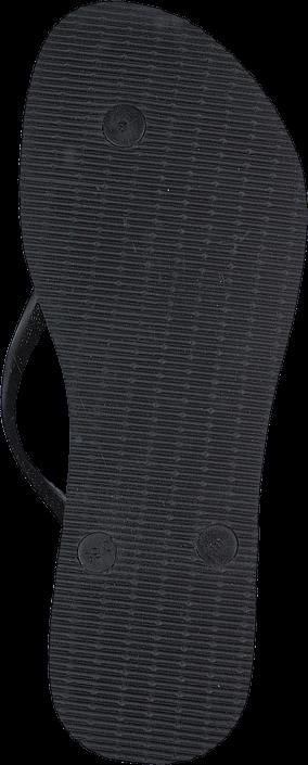 Havaianas - Slim Metal Logo And Crystal Black