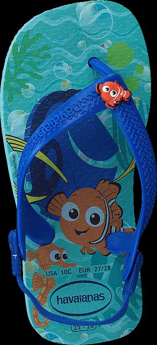 Havaianas Baby Disneys Cuties Ice Blue