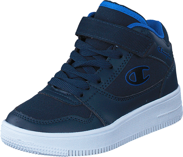 Champion - Mid Cut Shoe Rebound Canvas Ps New New Navy