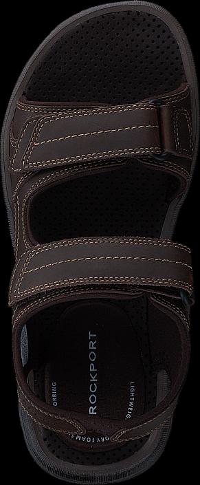 Rockport - Gyks Dble Velcro Dk Brown