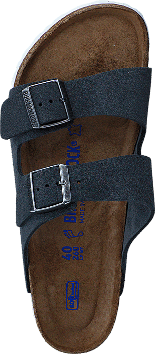 Birkenstock - Arizona Soft Regular Suede Stone