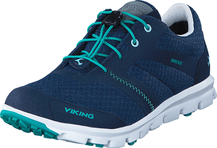 Footway SE - Viking Maverick Gore-Tex® Navy/Green, Skor, Sneakers & Sportskor, Walkingskor, B 847.00