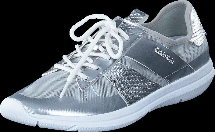 Footway SE - Calvin Klein Jeans Iden Fine Mesh / Printed Snake Silver, Skor, Lågskor, Promena 947.00