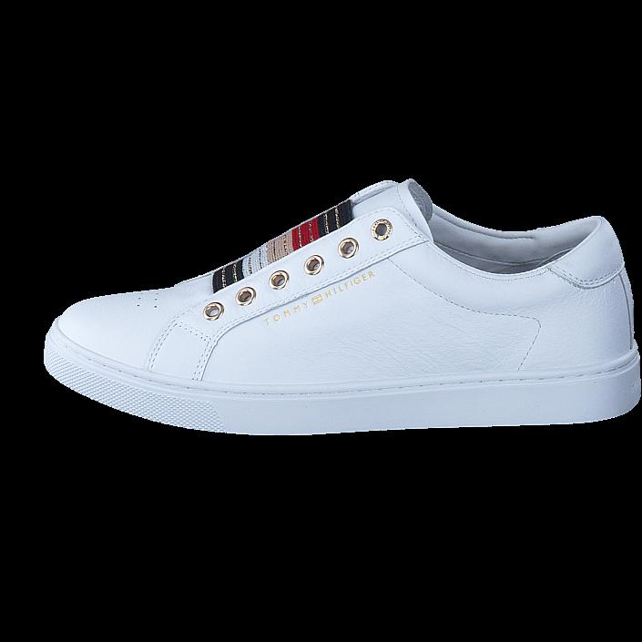 buy tommy hilfiger venus 8a1 100100 white white shoes. Black Bedroom Furniture Sets. Home Design Ideas