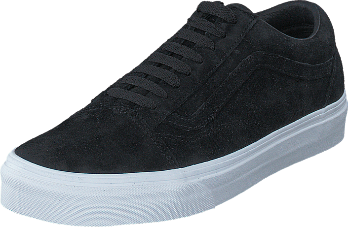 k p vans ua old skool suede black blanc de blanc svarta skor online. Black Bedroom Furniture Sets. Home Design Ideas