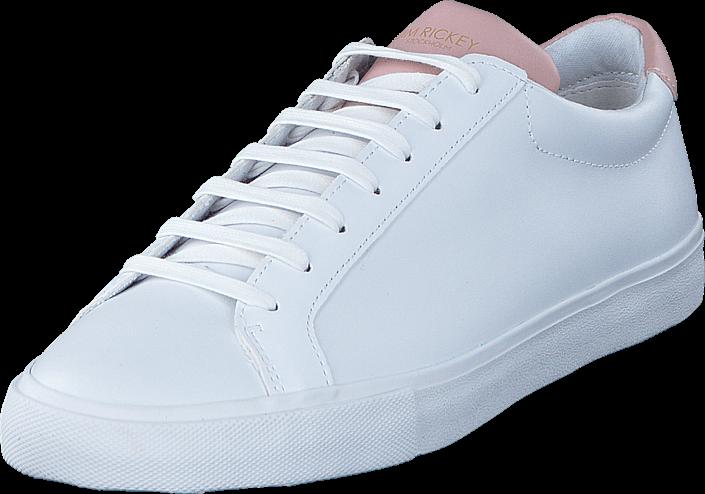Footway SE - Jim Rickey Chop Womens Leather White/Pink, Skor, Sneakers & Sportskor, Låga snea 847.00