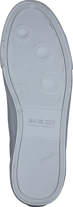 Jim Rickey Chop Punched Out Leather White