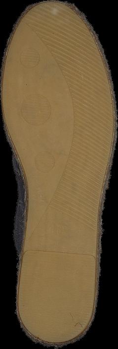 Pieces - Pslucia Suede Espadrillos Elephant Skin