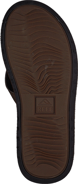 Reef - Voyange Leather Dark Brown