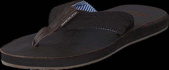 Quiksilver Carver Crew Demitasse Solid, Sko, Sandaler & Tøfler, Klipklap-sandaler, Sort, Herre, 39