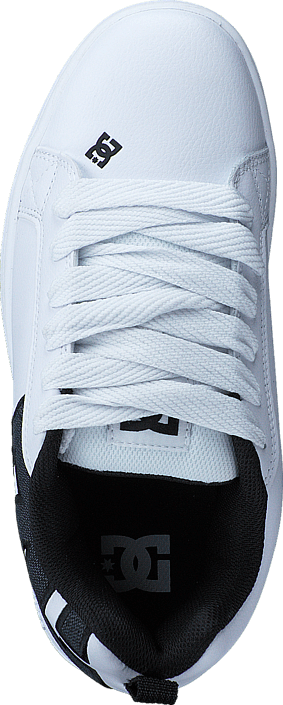 DC Shoes Court Graffik SE White Smooth