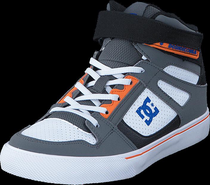 DC Shoes - Dc Kids Spartan High Ev B Shoe Grey/Blue/White