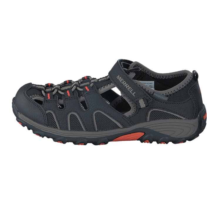Osta Merrell Boys Hydro H2O Hiker Sandal Black Gunsmoke Orange harmaat  Kengät Online  4cdc2bf07a
