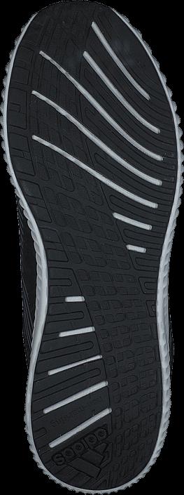 adidas Sport Performance - Fortarun K Core Black/Silver Met./Onix