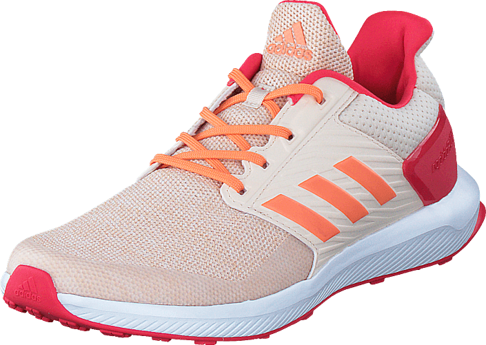 adidas Sport Performance Rapidarun K Ftwr White/Easy Orange S17/Lin