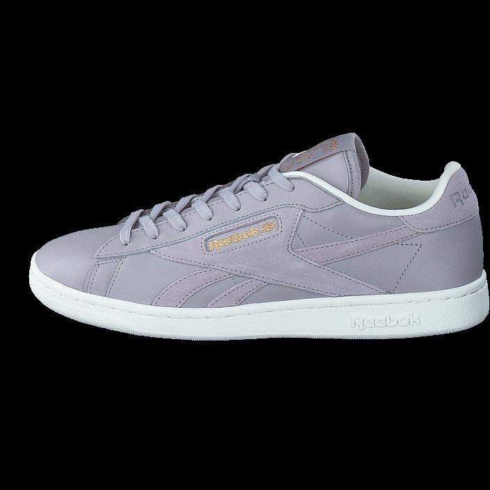 buy reebok classic npc uk ad whisper grey classic wht chalk purple shoes online. Black Bedroom Furniture Sets. Home Design Ideas