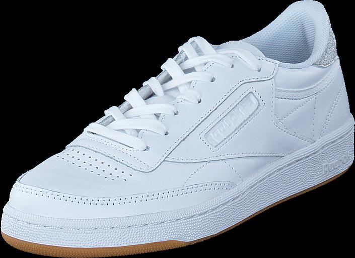 Reebok Classic Club C85 Diamond White/Gum
