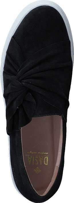 Dasia - Daylily Slip-in bow Black