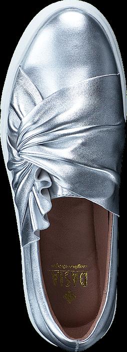 Dasia - Daylily Slip-in bow Silver