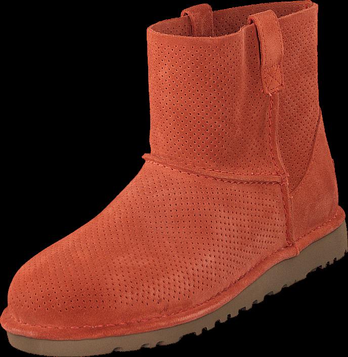 ugg-australia-mini-unlined-fire-opal-kengaet-bootsit-talvisaappaat-punainen-naiset-36