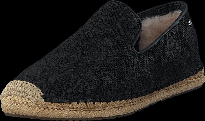 ugg-australia-sandrinne-ii-blk-kengaet-matalapohjaiset-kengaet-slip-on-musta-naiset-36