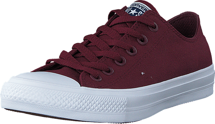 Converse - All Star II Ox Deep Bordeaux