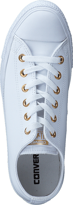 Converse - All Star Classic Ox Leather White/Gold