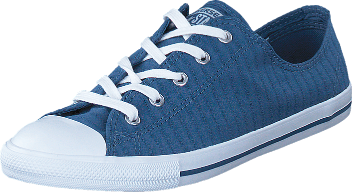 Converse CTAS Dainty Perforated Ox Blue Coast/ White
