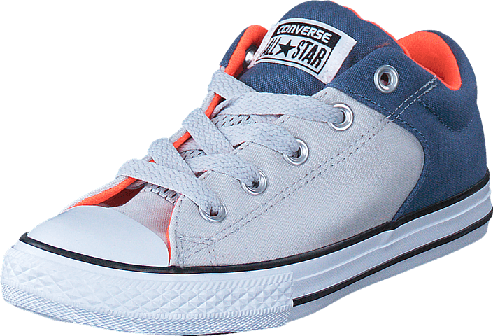Converse - CTAS High Street Slip Mouse/ Blue Coast/ White