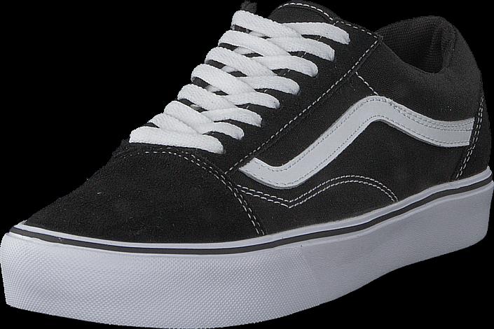 Vans - UA Old Skool Lite Suede/Canvas Black/White