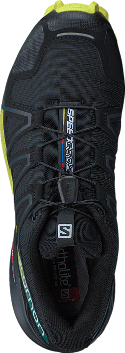 Salomon - SPEEDCROSS 4 Black/Ever/Sulphur Spring